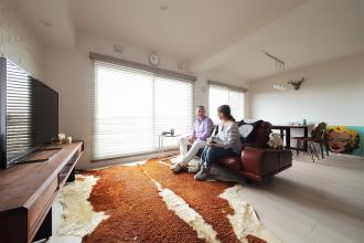 念願の広いクローゼットがお気に入り 帰る家があるという実感が持てる空間。