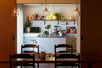 好きを詰め込んだキッチン