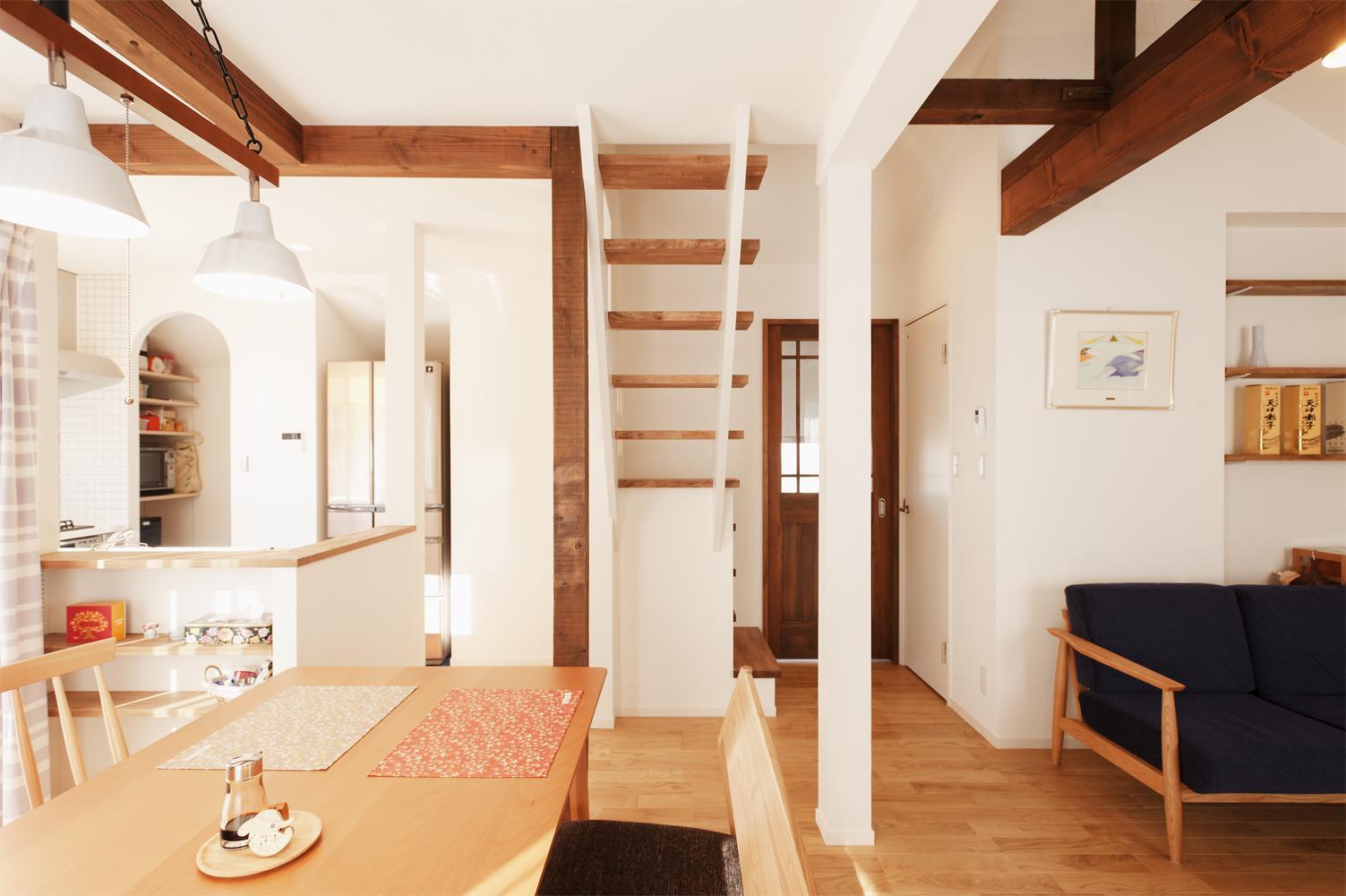 開放的な空間を楽しみながら、長く快適に暮らせる住まいの完成