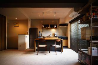 イメージは海外のホテル。自分の時間をゆったり楽しむ、シンプルでモダンなワンルーム