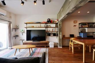 広々リビングとたっぷり収納を実現。家族の時間を大事にした暮らしやすい住まい