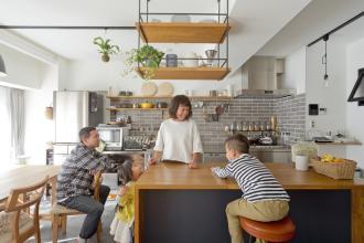家族が自然と集う家
