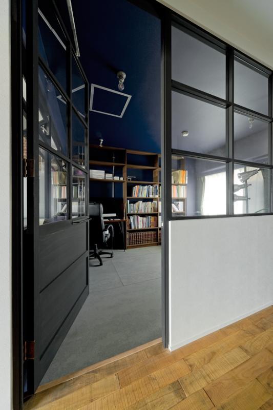 「NYブルックリンスタイルリノベーション」の書斎