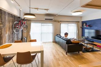 店舗設計のプロが、築35年のマンションをリノベーション。その仕上がりは?