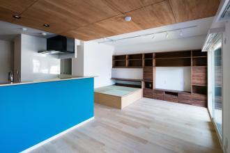造作家具にこだわった統一感のあるお部屋