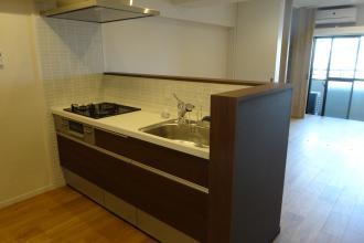 中古マンション大改造、オープンキッチンで暮らしも変化!