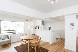 4LDK1室を分割して2世帯の賃貸物件が誕生(A室)