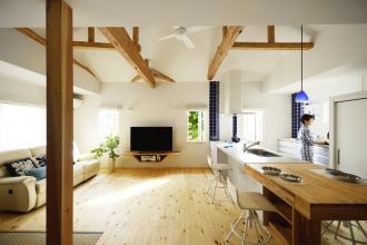新築のような再生。ふたりが心から安らぐ家。(一戸建て)