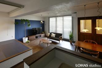 同じマンション内を住み替えるリノベーション -今度は持ちたい趣味の部屋!-