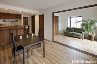 家具の造り付けだけ!お部屋の雰囲気はこれだけ変わる!