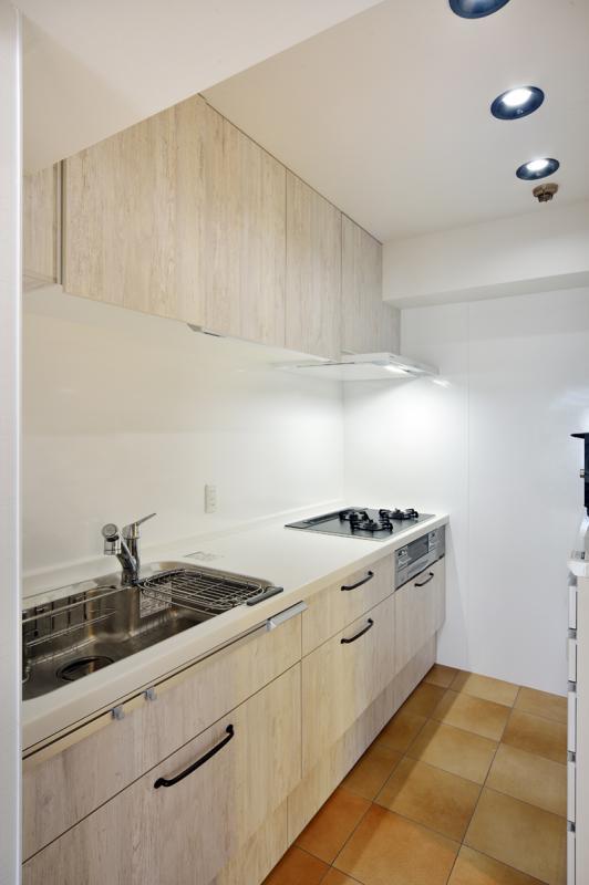 「茅ヶ崎+インダストリアル」のキッチン
