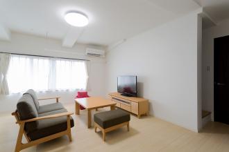 築50年の建物にゆとりある子世帯を新設。暮らしやすい二世帯住宅に。