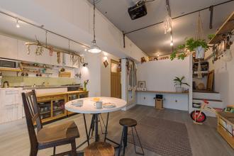 設計者と家具デザイナーのコラボリノベーション