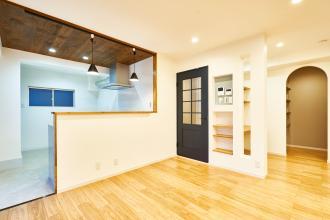 築40年のマンションをリノベーションで素敵に。