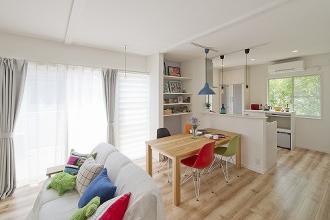 二世帯住宅 戸建リノベーション