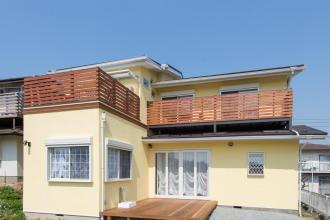 家族3人とワンちゃんが心地よく暮らす、戸建リノベーション