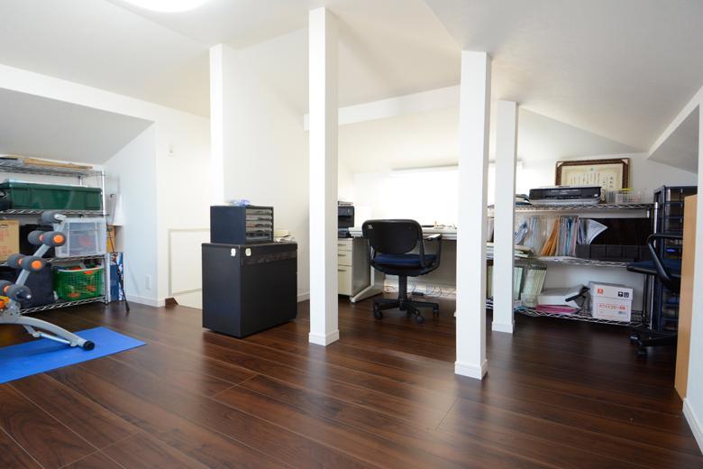 書斎や趣味のスペース