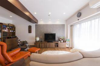 定年退職を機に、新しい暮らしに合わせて住み慣れたマンションを全面リフォーム