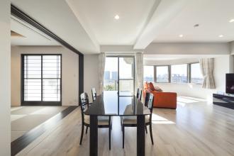 和室中心のデザインリフォームで和モダンの空間と大容量収納を実現