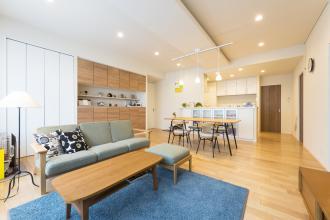 家事にやさしい動線と広々とした空間設計に家族全員が大満足