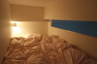 ロフトで生活スペースを確保するマンション